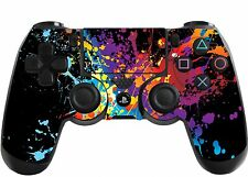 Paint Splats Playstation 4 (PS4) Controller Sticker / Skin / Wrap / PS30