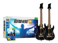 Guitar HERO-Live incl. 2x Chitarra per xBox 360 | Bundle | Merce Nuova