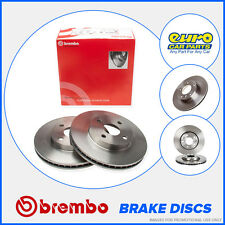 Brembo 08.A147.11 OE Quality Rear Brake Discs 260mm Solid Honda Civic MK7 FD