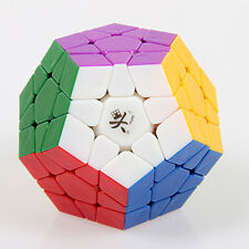 New Dayan Megaminx Stickerless Twisty Puzzle Magic Cube Speedsolving No Stickers