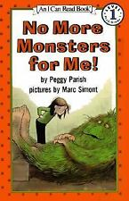 I Can Read Bks. Level 1: No More Monsters for Me! by Peggy Parish (1981,...