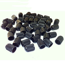 40x Plastic Auto Car Bike Motorcycle Truck wheel Tire Valve Stem Caps Black LACA