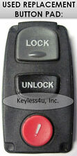 KPU41704 keyless entry remote transmitter clicker keyfob replacement button pad
