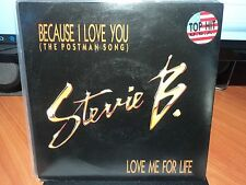 "Stevie B ""Because I Love You (The Postman Song)"" Great Oz PS 7"""