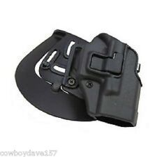 BlackHawk CQC Serpa Holster Glock 42 410567BK-R Matte Black Finish Right Handed