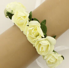Women Lady New Hollow Rose Flower Floral Head Jewelry Hair Band