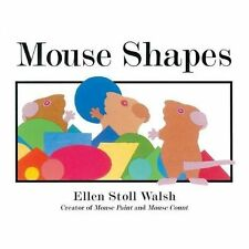 Mouse Shapes by Ellen Stoll Walsh (2007, Hardcover)