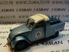 Voiture 1/43 norev citroën 2 CV n°5 pick-up BUTAGAZ
