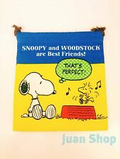 Peanuts Gang Snoopy with Dancing Woodstock Drawstring Bag / Character Pouch