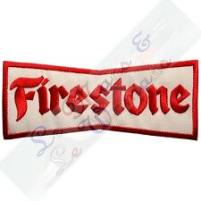 Firestone Bow Tie Embroidered Cloth Emblem Badge Patch
