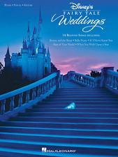"""DISNEY'S FAIRY TALE WEDDINGS"" PIANO/VOCAL/GUITAR MUSIC BOOK-BRAND NEW ON SALE"