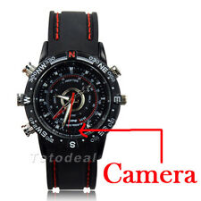 8GB SPY HD 1280*960 Wrist Watch Camera Audio DVR DV Hidden Camcorder Waterproof
