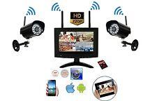 SISTEMA VIDEOSORVEGLIANZA QUAD 4 CANALI + DVR 32 GB + TELECAMERE 1 MPX WIRELESS