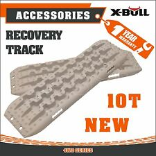 X-BULL NEW Recovery Tracks Sand Track Vehicle Sand/Snow/Mud Trax  2pc 10T 4WD