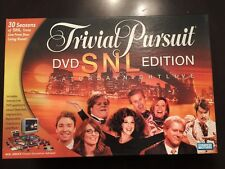 2004 Trivial Pursuit DVD SNL Edition Parker Bros. Family Board Game