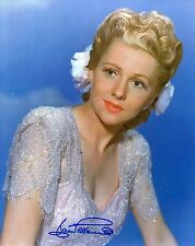 JOAN FONTAINE - Signed 10x8 Photograph - HOLLYWOOD LEGEND