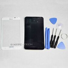 White Replacement Screen Glass Lens Samsung Galaxy Note 1 i717 SGH-i717 + Tools