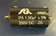 SCR PA Series MKP 1.5uF +/-5% 250V Capacitor 1.50uF
