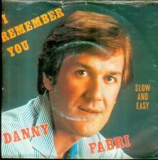 """7"""" Danny Fabri/I Remember You (Belgium)"""
