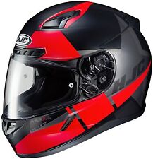 HJC CL-17 BOOST Full Face Motorcycle Street Helmet Black/Red SIZE LARGE MC-1SF