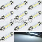 10 Stück T10 36mm 3 SMD 5050 LED 12V Auto Lampe Birne weiß Licht Beleuchtung