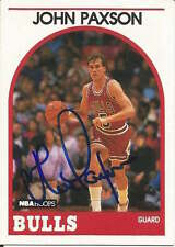 John Paxson authentic signed autographed trading card COA