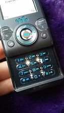 Sony Ericsson Ericcson Walkman W580i Grey Blue Cellular Phone Locked Bundle