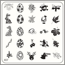 MoYou Nails Special Halloween image plate 407 Nail Art Stamping