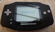Nintendo Gameboy Advance Pal Black HAND HELD CONSOLE AGB-001