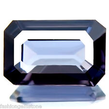 2.45ct FLAWLESS RARE 100% NATURAL UNHEATED BEST SILVER BLUE SPINEL NICE CUT GEM!