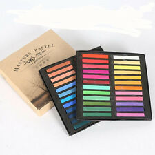 SOFT PASTEL DRY CHALK 48pcs SET ARTIST BLOCKS DRAWING TONING