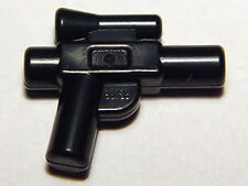 LEGO Star Wars - Minifig, Weapon Small Blaster Gun - Pistol - Black