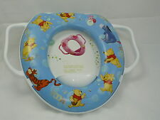 Baby Soft Padded Potty Training Toilet Seat With Handles WinnieThe Pooh Tigger .