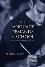 The Language Demands of School: Putting Academic English to the Test, , Used; Ve