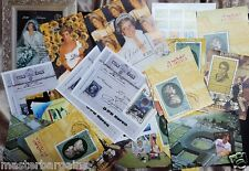 Bulk Miniature sheets 38 diana music tennis space etc. themes mnh cto pristine