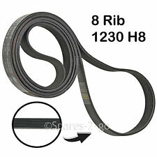 NOVAMATIC 1230H8 Poly V Tumble Dryer Drive Belt 1230 H8 1231 1231H8 41003164