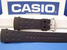 Casio Watch Band G-8000  Black Resin Strap G-Shock.Original Two-Piece Watchband