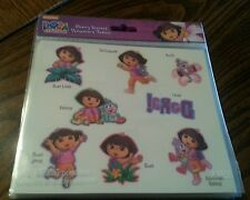 DORA the EXPLORER Tattoo Stickers. 8 Pieces, Ages 3 and Up Girls. One Size