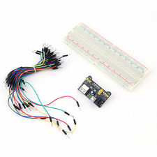 New MB102 Power Supply Module 3.3V 5V Breadboard Board And Jumper Cable#C