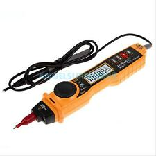 Digital Multimeter Voltmeter Ohmmeter AC DC Multi Tester with Detector Pen-type