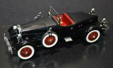 Danbury Mint 1/24 Die Cast Car 1927 Stutz Black Hawk Black, burgundy
