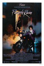 1980's Art Rock:  Prince * Purple Rain * USA Movie Poster 1984