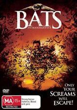 Bats - Human Harvest DVD Region 4 (VG Condition)