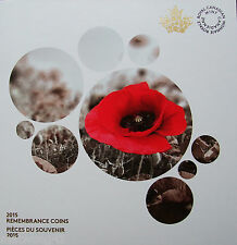 CANADA 2015 Remembrance Collector's Card ONLY: In Flanders Fields