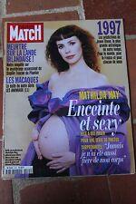 paris match 2485 du 9 janvier 1997 mathilda may sylvester stallone gainsbourg
