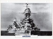 1915 USS ARIZONA (BB-39) Battleship / Warship Photograph Maxi Card /
