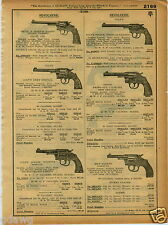 1921 PAPER AD Colt Revolvers Police Positive Target Pocket Army Remington UMC