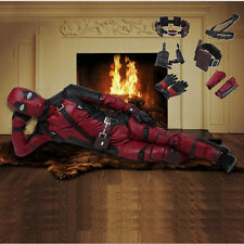 New Exclusive Deadpool Cosplay Costume Outift Accessories Custom Made Any Size