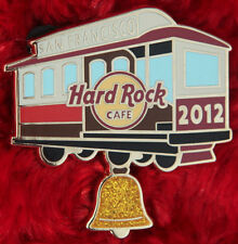 Hard Rock Cafe Pin San Francisco TROLLEY Cable CAR Bell Ringer Contest lapel hat