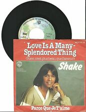 "Shake, Love is a many-splendored thing, G/VG, 7"" Single, 1470"